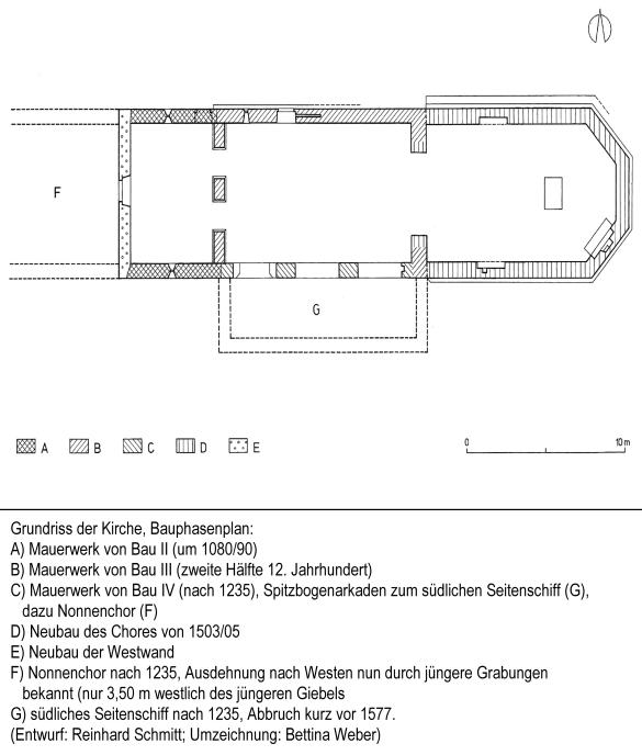Kapellendorf: Grundriß der Kirche