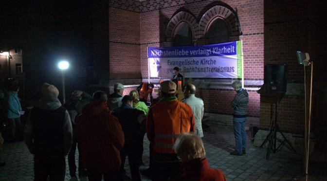 Friedensgebet an der Lutherkirche