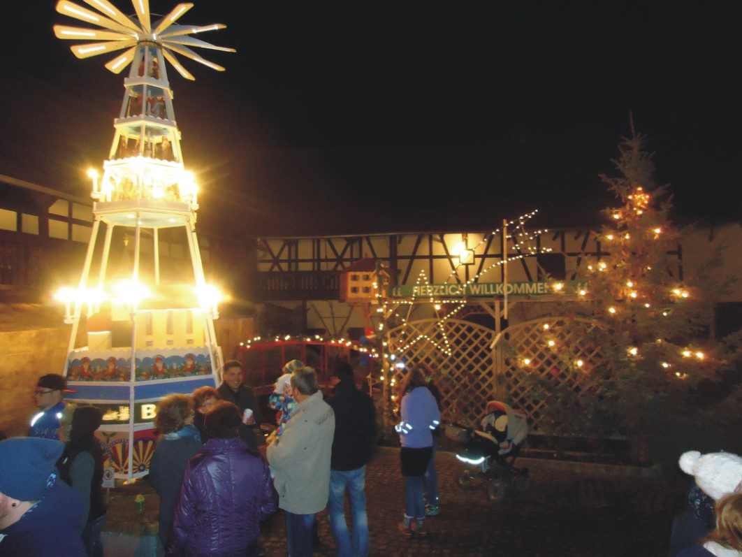 Adventsnachmittag in Oberndorf 2015