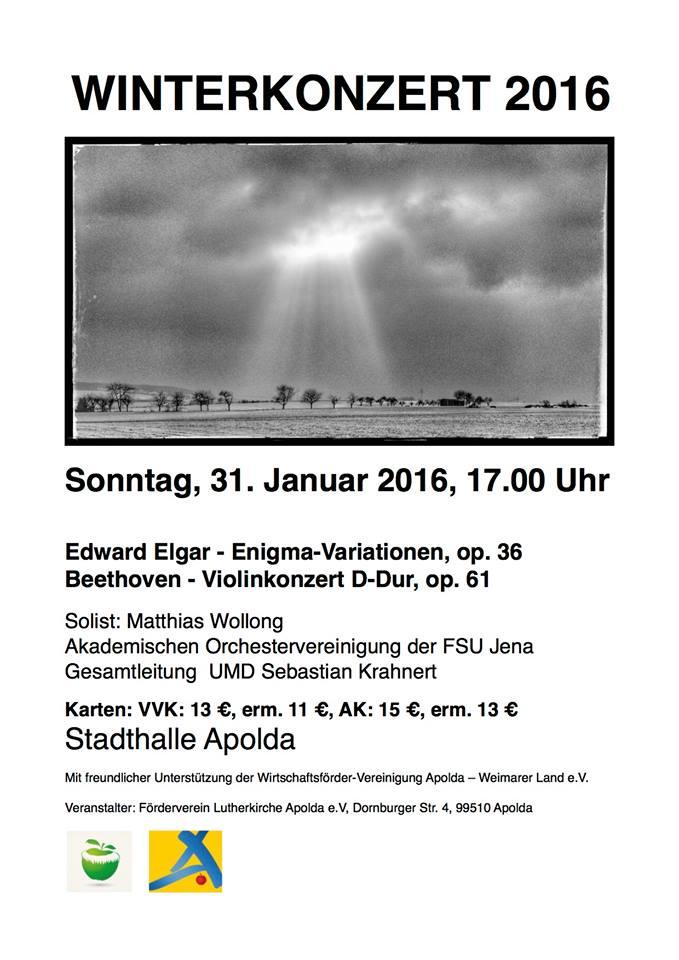 Winterkonzert 2016
