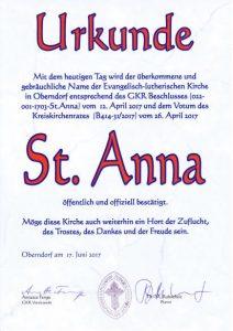 St Anna Oberndorf
