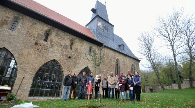 Reformationstag 2017 Kapellendorf: Lutherbaum gepflanzt