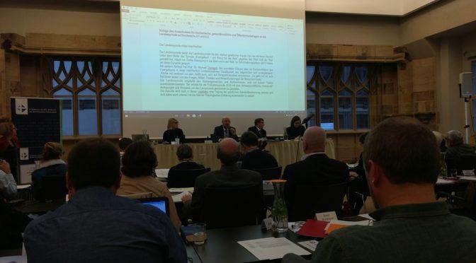 6. Tagung der II. Landessynode der EKM