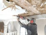 Sanierung der Kirchendecke