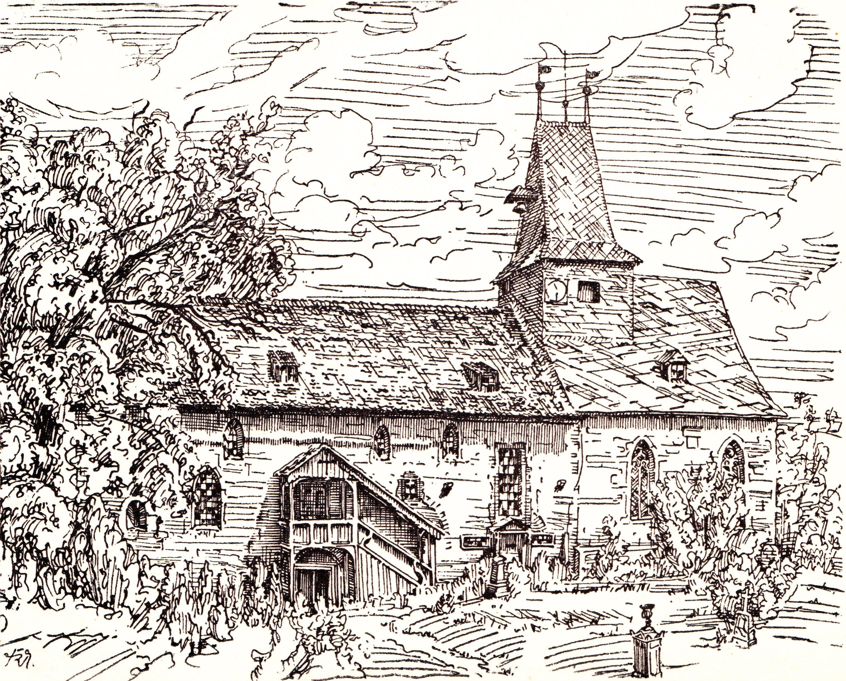 Sanierung Kirche Kapellendorf