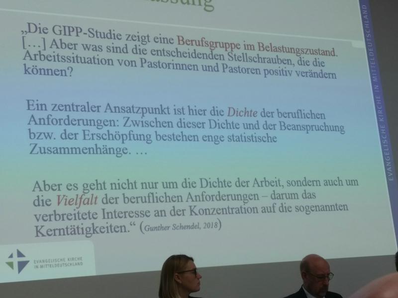Wahl des Regionalbischofs für den Propstei Gera-Weimar