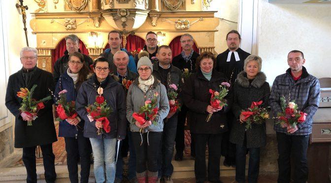 Gemeindekirchenrat des Kirchspiels Kapellendorf eingeführt