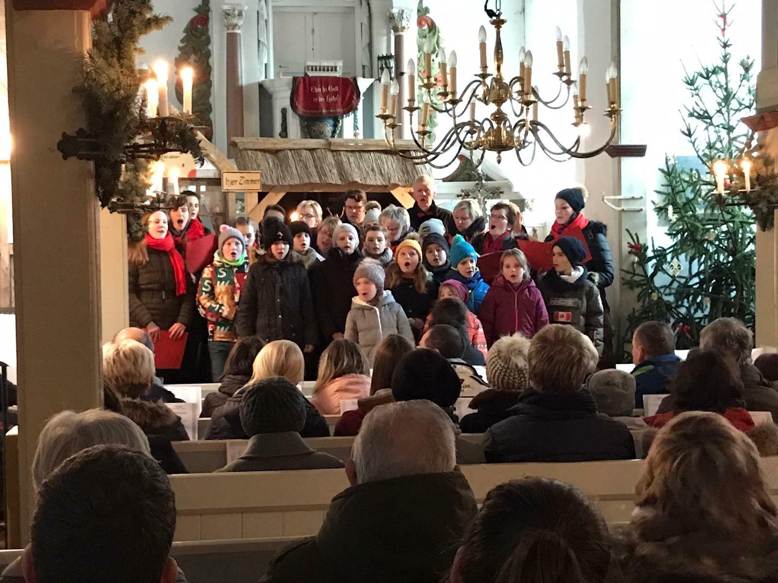Kleinromstedt im Advent 2019