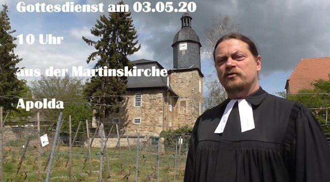 online-Gottesdienst 03.05.2020
