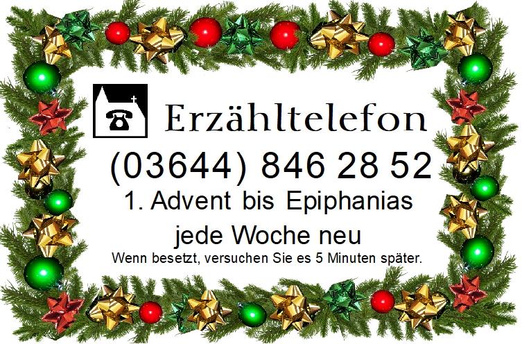Erzähltelefon im Advent